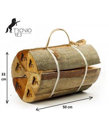 Luxusní suché krbové dřevo Tronio Reb - 50cm buk