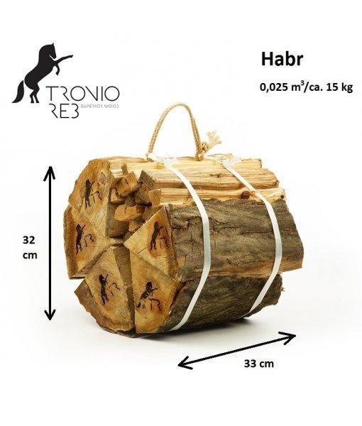 Balíček luxusního dřeva Tronio Reb - 15 kg