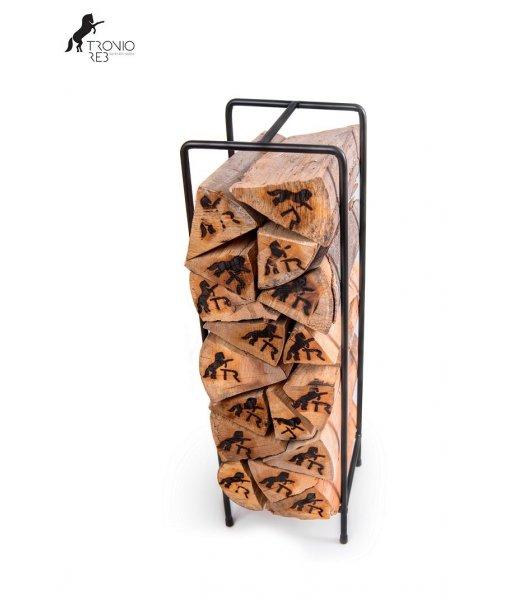 Stojan na krbové dřevo - Tronio Reb TR - SKD11 - 20x20x67 cm
