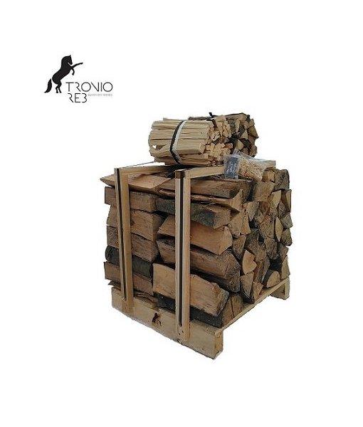 Suché krbové dřevo 0,25 m³ -33cm Bříza- Tronio Reb - paleta economy