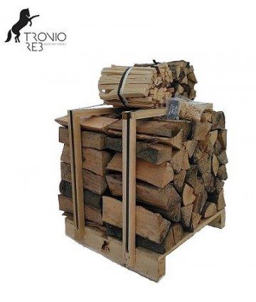 Suché krbové dřevo 0,25 m³ -33cm Jasan - Tronio Reb - paleta economy
