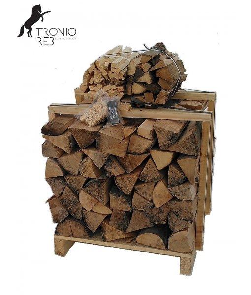 Suché krbové dřevo 0,25 PRMR -33cm buk - Tronio Reb - paleta economy