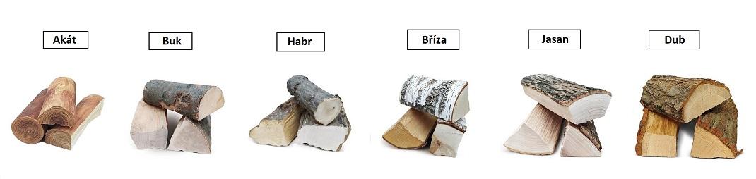 Druhy tvrdých dřev